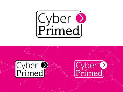 Cyber Primed brand redesign logo design rebrand brand guidelines artwork design logo branding