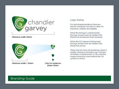 Chandler Garvey Brand Guidelines brand guidelines branding logo