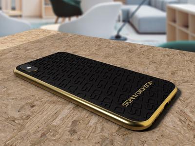 Sonny Dickson custom phone cover design branding 3d