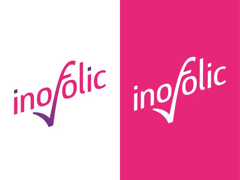 Inofolic Logo rebrand logo design brand guidelines vector artwork design logo branding