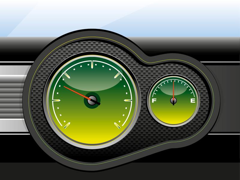 Dials artwork vector illustration
