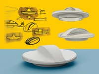 3d modelled drain cap