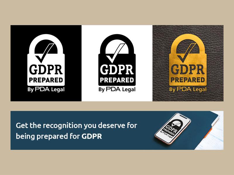 GPDR Prepared logo artwork vector branding logo