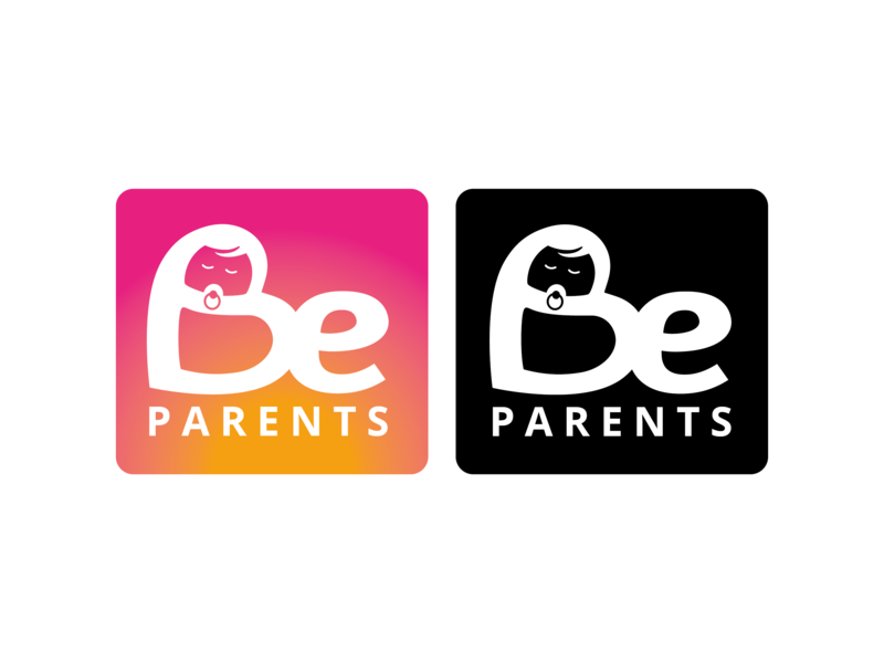 Be Parents artwork logo design rebrand vector logo design branding