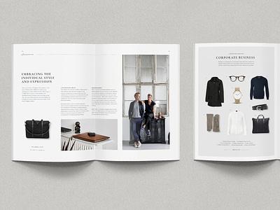 FW winter journal typography graphic design minimalism magazine design layout design magazine