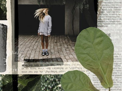 #1 collage paint collages collageart minimalism graphic design collage art leaves photoshop green collage