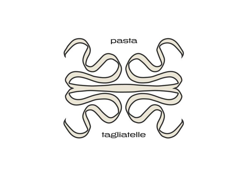 italian pasta pasta graphic design design illustration
