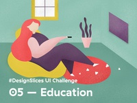 #DesignSlices UI Challenge 05 - Education