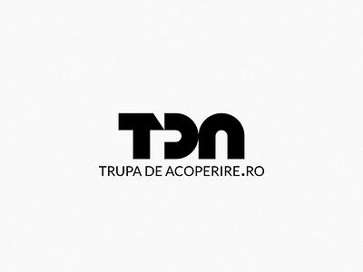 TDA logo trupa de acoperire respiro media onemanzoo logo design logo digital design vector