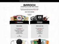Barock web layout