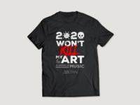 2020 Won't Kill My (he)Art fundraising campaign t-shirt ai digital design vector art vector