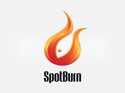 SpotBurn logo spotburn logo ai vector respiro media fish