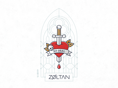 Single artwork for No Deal by ZØLTAN vector illustration vector art artwork cover no deal cover art cover artwork digital design illustration single single art single artwork single cover single cover art single cover artwork single cover design zoltan zøltan design vector