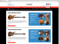Carvin icon basses
