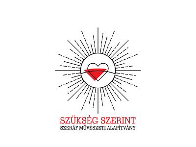 Szükség Szerint Logo Concept Nr.2 logo logo design vector digital design respiro media szukseg szerint