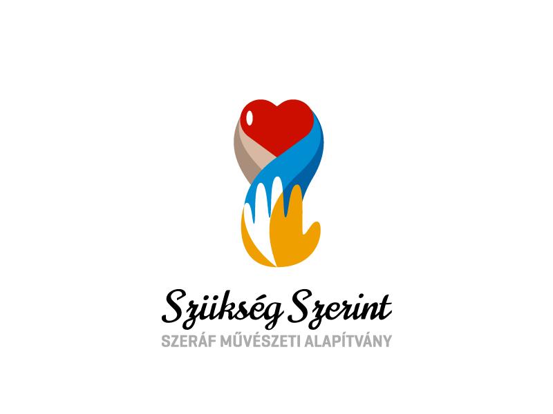 Szükség Szerint Logo Concept Nr.3 logo logo design vector digital design respiro media szukseg szerint
