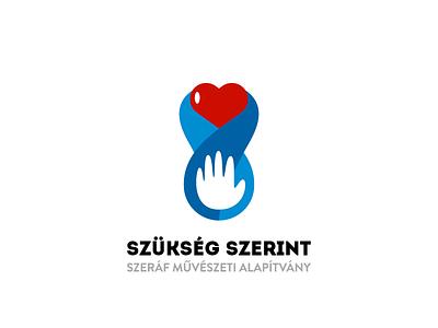 Szükség Szerint Logo Concept Nr.4 logo logo design vector digital design respiro media szukseg szerint
