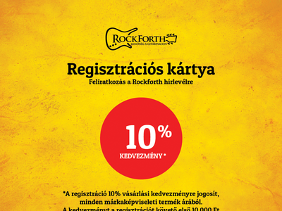 Rockforth Registration Card print design registration card respiro media rockforth warwick