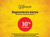 Rockforth Registration Card