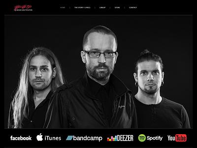 YesWeDo Website Layout zoltan sebestyen music yeswedo psd layout web layout website respiro media