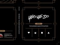 YesWeDo Digipak CD design