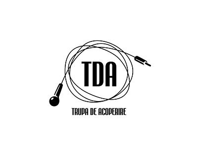 Logo for Trupa de Acoperire cover band music trupa de acoperire logo design digital design onemanzoo logo vector respiro media