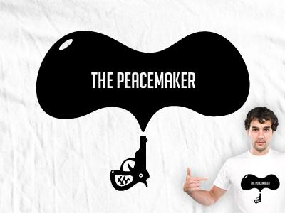 The Peacemaker t-shirt design concept altfel media t-shirt concept ai vector respiro media the peacemaker design