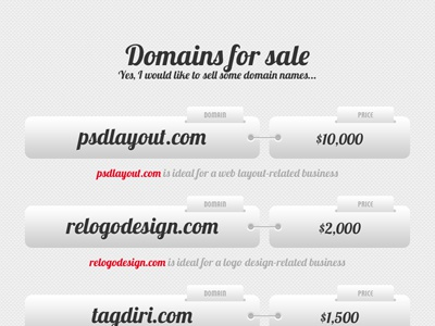 Domains for sale - a one page site respiro media domains psd layout psd website design for sale