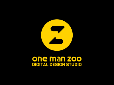OneManZoo logo onemanzoo respiro media ai vector logo logo design digital design