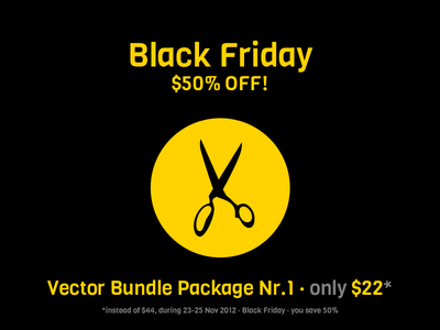 Black Friday by OneManZoo black friday vector icons icon bundle onemanzoo respiro media