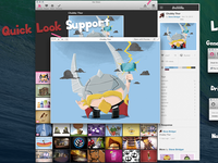 Hot Shots Dribbble Mac OS X Application