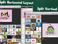 Mac OS X Hot Shots Layouts