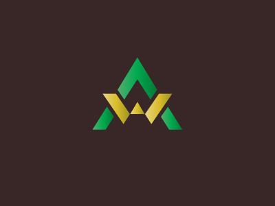 Aw Logo   Alphabet Logo logofont logoforsale typogaphy typeface custom logo awesome logo aw logo icon logos design logotype freelancedesigners branding symbol businesslogodesigners logo mark logodesign minimalist logo logo design logo