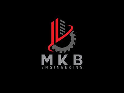 MKB ENGINEERING   Engineering Logo logomark logomaker identitydesign home logo creative real estate logo home construction logo mark logomakeronline freelancedesigners businesslogodesigners branding symbol logo mark vector minimalist logo logodesign logo engineering logo