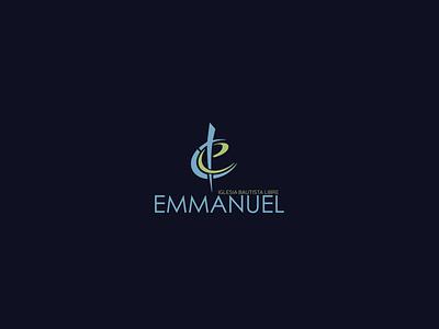 Iglesia Bautista Libre Emmanuel church logo branding businesslogodesigners graphicdesign logomakeronline symbol logo mark vector minimalist logo logodesign logo