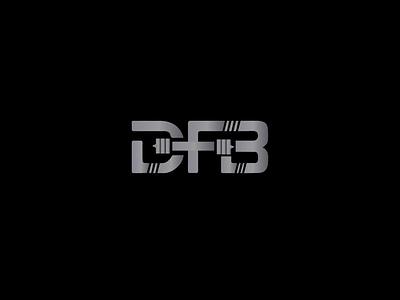 DFB Gym Logo graphic grahics design design d logo bold alphabet logo type logo typogaphy bodybuilding gym logo vector icon logotype mark freelancedesigners symbol logo mark minimalist logo logodesign logo