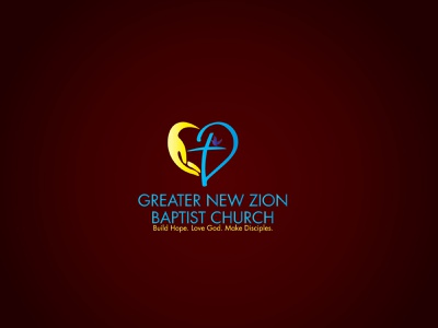 Greater New Zion Baptist Church uxdesign ui design graphicdesign logo identity logo icon logo ideas logos religious custom logo baptist peace mark symbol vector logo mark minimalist logo logodesign logo
