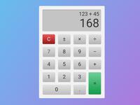 DailyUI 004: Calculator