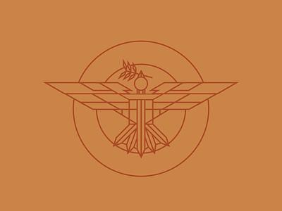 Peace // Justice badge logo badges olive branch justice bird icon birds sword dove peace bird badge illustrator icon logo vector branding illustration design
