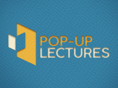 Pop-Up Lectures Cut Out Logo