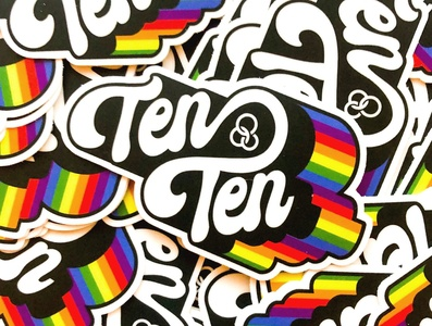 Youth Center Logotype Stickers