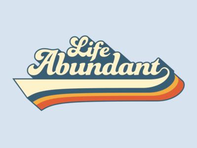 Life Abundant Groovy Type