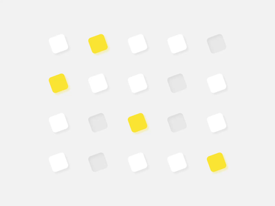 QArea Icon & Button Set Animation symbols stroke simple lines simple line vector icon clean ui ux concept animation design motion illustration
