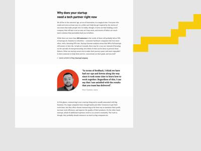 Software Testing & QA Company Blog Animation