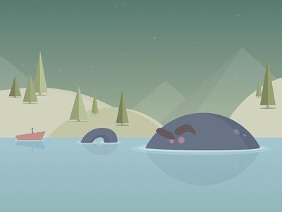Defeat B.O.C.O. flat animation illustration design