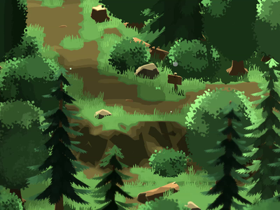 Windy Forest gust wind trees rpg indie game video game woods unity path trail adventure 3d forest