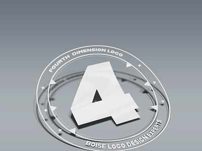 Logo Design by Fourth Dimension Logo logo mock-up illustration logodesign boise boiselogodesign graphic design fourth dimension logo graphicdesign fourthdimensionlogo
