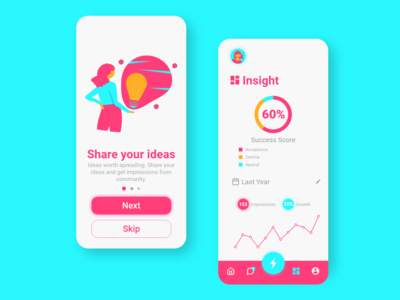 Idea Generation App UI