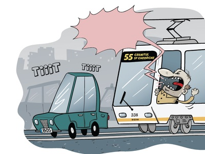 weekly webcomic about public transportation illustration vector cartoony cartoon character design comics strip online comics comics webcomics webcomic