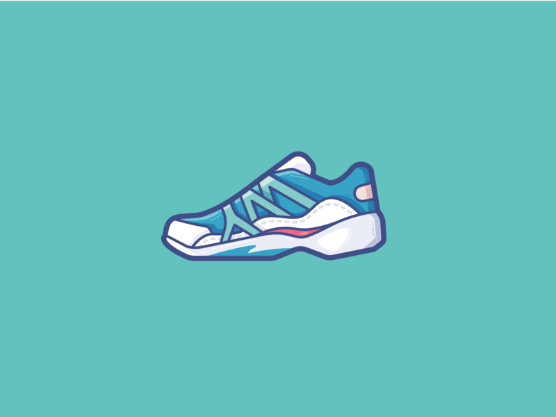 Casual shoes fitness sports sport shoes brand branding ui vector icon design icons icon